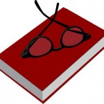 Red Book with Glasses