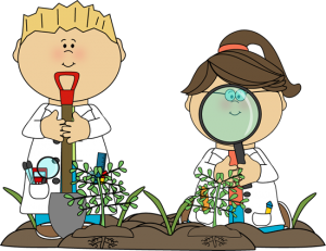 science-kids-examining-plants