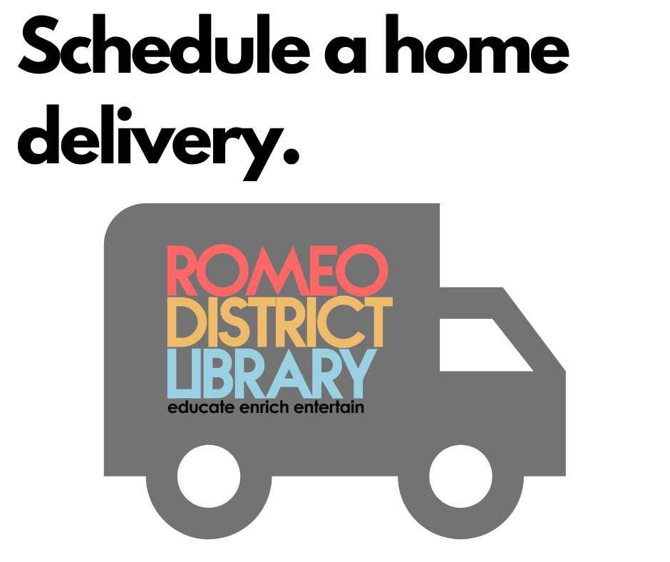 Schedule a home delivery