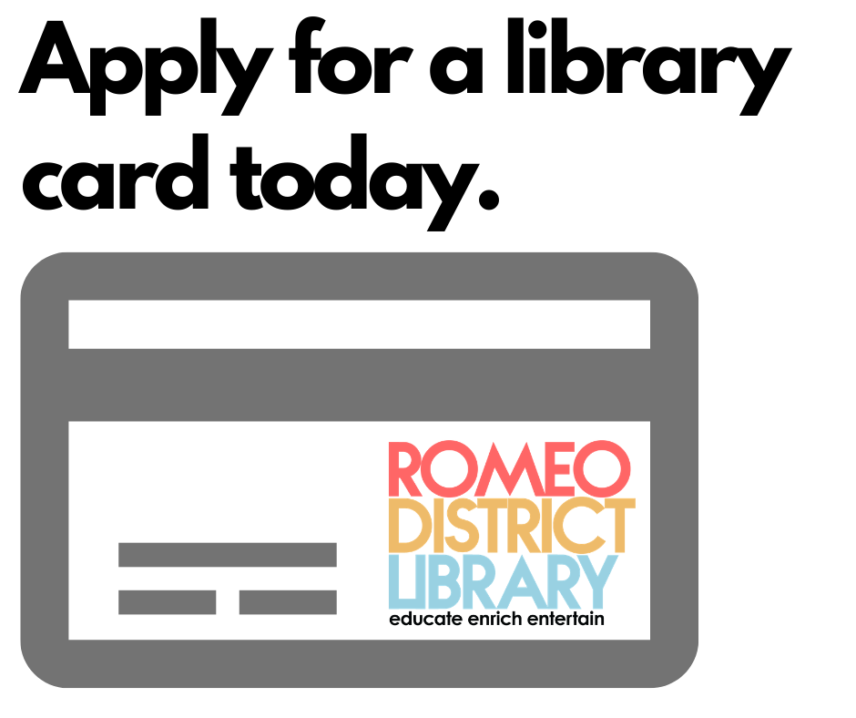 Apply for a library card today